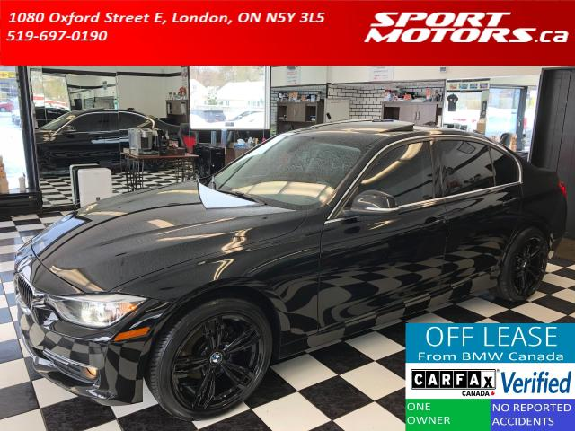 2015 BMW 3 Series 320i xDrive+Xenons+New Tires+Roof+Leather+Tinted