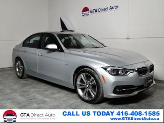 Used 2016 BMW 3 Series 328D xDrive Sport Nav Sun Prem Cam Xenon Certified for sale in Toronto, ON
