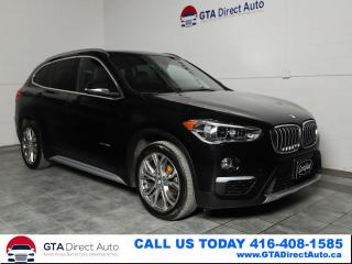 Used 2016 BMW X1 xDrive28i AWD Sport Panoroof Cam Xenon Certifed for sale in Toronto, ON