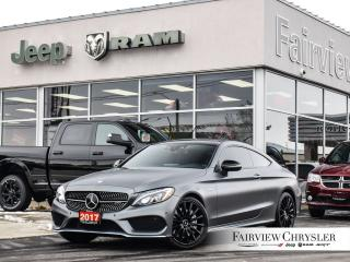 Used 2017 Mercedes-Benz C-Class AMG 43 MATTE GREY PANO ROOF PREMIUM AUDIO for sale in Burlington, ON