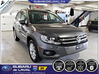 Used 2014 Volkswagen Tiguan COMFORTLINE for sale in Laval, QC