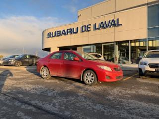 Used 2010 Toyota Corolla 1,8L CE for sale in Laval, QC
