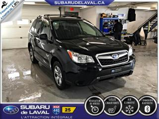 Used 2016 Subaru Forester 2.5i AWD Base for sale in Laval, QC