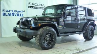 Used 2013 Jeep Wrangler UNLIMITED SAHARA ** 2 TOITS ** for sale in Blainville, QC