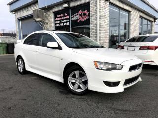 Used 2013 Mitsubishi Lancer Berline 4 portes, boîte manuelle, SE 10T for sale in Longueuil, QC