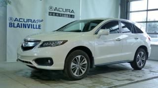 Used 2017 Acura RDX ÉLITE ** AWD ** TRES BAS KILO ** for sale in Blainville, QC