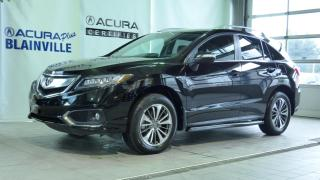 Used 2016 Acura RDX ÉLITE ** BAS KILOMÉTRAGE ** for sale in Blainville, QC