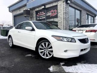 Used 2010 Honda Accord EX-L manuelle I4 2 portes avec Navi for sale in Longueuil, QC