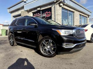 Used 2018 GMC Acadia Traction intégrale 4 portes Denali Navig for sale in Longueuil, QC