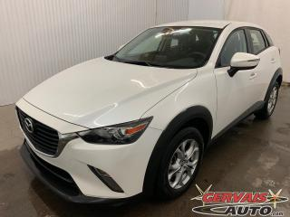 Used 2018 Mazda CX-3 GS AWD GPS MAGS Caméra de recul Volant chauffant for sale in Trois-Rivières, QC