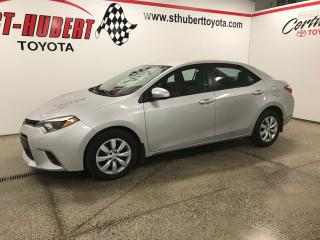 Used 2016 Toyota Corolla BANCS CHAUFFANTS, CAMÉRA DE RECUL for sale in St-Hubert, QC