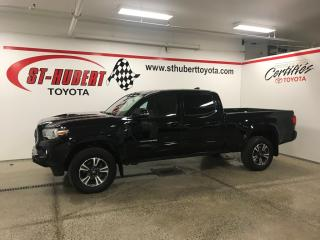 Used 2018 Toyota Tacoma 4x4 Double Cab V6 Auto TRD, NAVIGATION for sale in St-Hubert, QC