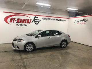 Used 2014 Toyota Corolla 4dr Sdn CVT LE for sale in St-Hubert, QC