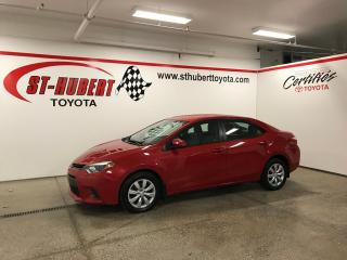 Used 2016 Toyota Corolla 4dr Sdn CVT S, BANCS CHAUFFANTS for sale in St-Hubert, QC
