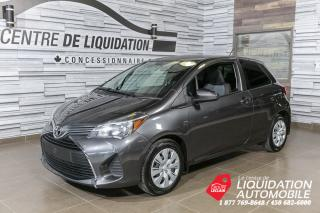 Used 2015 Toyota Yaris CE+AIR CLIM for sale in Laval, QC