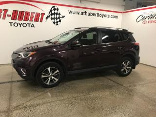 Used 2017 Toyota RAV4 AWD 4dr XLE, TOIT OUVRANT for sale in St-Hubert, QC