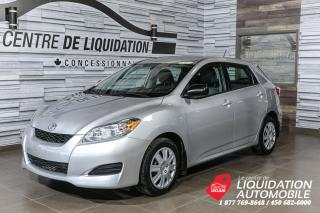 Used 2012 Toyota Matrix GR.ELECT+A/C for sale in Laval, QC