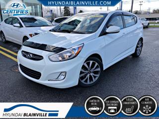 Used 2016 Hyundai Accent SE DÉMARREUR DISTANCE, TOIT, MAGS, BLUET for sale in Blainville, QC