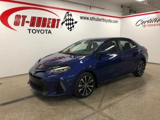 Used 2017 Toyota Corolla 4DR SDN CVT SE for sale in St-Hubert, QC