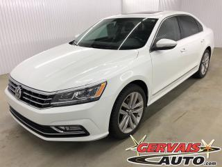 Used 2017 Volkswagen Passat Highline GPS Cuir Toit Ouvrant MAGS Bluetooth for sale in Trois-Rivières, QC
