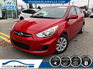 Used 2015 Hyundai Accent GL 5 PORTES BLUETOOTH, BANCS CHAUFFANTS, for sale in Blainville, QC
