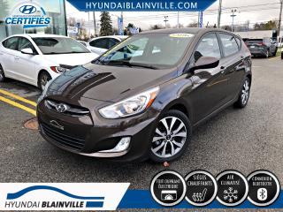 Used 2016 Hyundai Accent SE TOIT, MAGS, BLUETOOTH, BANCS CHAUF for sale in Blainville, QC