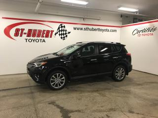 Used 2016 Toyota RAV4 AWD 4dr Limited for sale in St-Hubert, QC