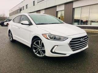 Used 2017 Hyundai Elantra GLS     AUTOMATIQUE  ''TOIT OUVRANT' for sale in Ste-Marie, QC