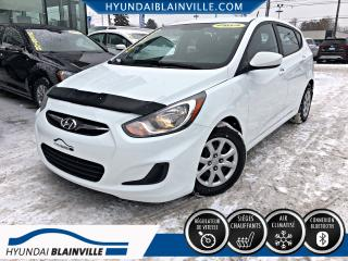 Used 2013 Hyundai Accent 5 PORTES GL DÉMARREUR DISTANCE,BANCS CHA for sale in Blainville, QC