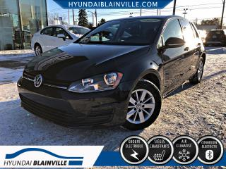 Used 2015 Volkswagen Golf 1.8 TSI TRENDLINE BANCS CHAUFFANTS, BLUE for sale in Blainville, QC