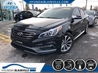 Used 2015 Hyundai Sonata SPORT TECH, DÉMAR DISTANCE, NAVIGATION, for sale in Blainville, QC