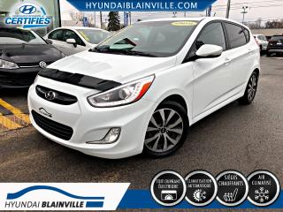Used 2015 Hyundai Accent 5 PORTES GLS MAN, TOIT, MAGS, BLUETOOTH for sale in Blainville, QC