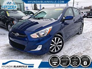 Used 2017 Hyundai Accent SE DÉMARREUR DISTANCE, TOIT, MAGS, BLUET for sale in Blainville, QC