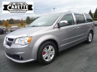 Used 2014 Dodge Grand Caravan Crew tv-dvd-gps-cuir for sale in East broughton, QC