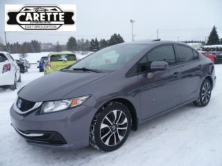 Used 2014 Honda Civic EX TOIT OUVRANT for sale in East broughton, QC