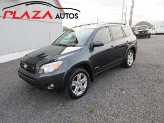 Used 2007 Toyota RAV4 4WD 4DR V6 SPORT for sale in Beauport, QC