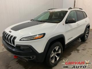 Used 2014 Jeep Cherokee Trailhawk V6 4x4 MAGS Cuir Caméra de recul for sale in Shawinigan, QC