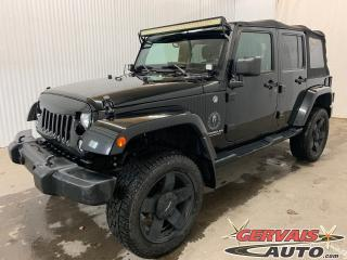 Used 2014 Jeep Wrangler Sahara 4X4 GPS MAGS for sale in Shawinigan, QC