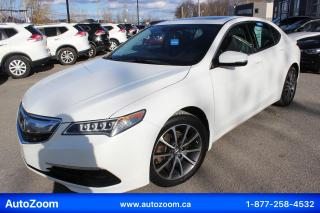 Used 2015 Acura TLX 3.5L V6 for sale in Laval, QC