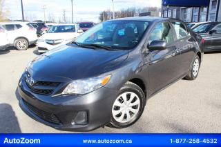 Used 2013 Toyota Corolla 4DR SDN AUTO LE for sale in Laval, QC