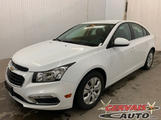Used 2015 Chevrolet Cruze 1LT Caméra de recul Bluetooth A/C *Bas Kilométrage* for sale in Shawinigan, QC