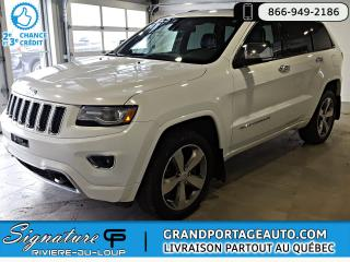 Used 2014 Jeep Grand Cherokee 4 RM 4 portes Overland **DIESEL** NAV**C for sale in Rivière-Du-Loup, QC