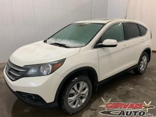 Used 2014 Honda CR-V EX-L AWD Cuir Toit Ouvrant MAGS Bluetooth Caméra for sale in Trois-Rivières, QC