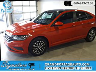 Used 2019 Volkswagen Jetta Highline Manuelle **TOIT OUVRANT PANORAM for sale in Rivière-Du-Loup, QC