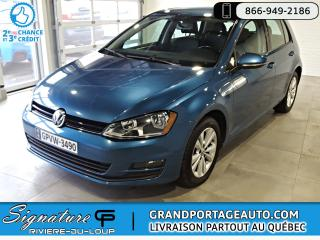 Used 2015 Volkswagen Golf 1.8 TSI Comfortline 5 Portes Automatique for sale in Rivière-Du-Loup, QC
