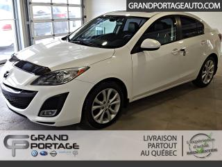 Used 2011 Mazda MAZDA3 Berline GT Autom. Toit Mags *INT. CUIR* for sale in Rivière-Du-Loup, QC