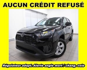Used 2019 Toyota RAV4 LE AWD ALERTE ANGLE MORT / CHANG. VOIE *RÉG ADAPT* for sale in St-Jérôme, QC