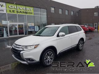 Used 2016 Mitsubishi Outlander AWC 4dr ES PREMIUM CUIR, MAGS, TOIT for sale in Chambly, QC