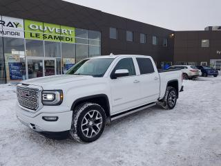Used 2017 GMC Sierra 1500 4WD Crew Cab Denali, mags, nav, camera for sale in Chambly, QC