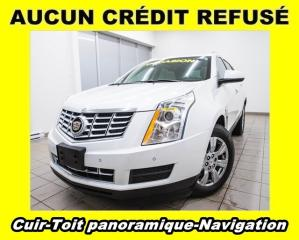 Used 2015 Cadillac SRX LUXURY AWD HAYON ÉLECTRIQUE NAV CUIR *TOIT PANO* for sale in St-Jérôme, QC